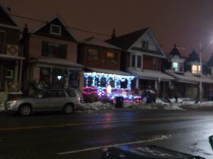 christmas lights galore from the house opp annes