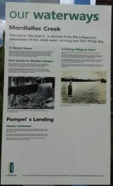 information on mordialloc creek