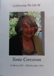 Tonie's Funeral