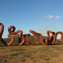sculpture at Arboretum, Canberra