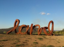 sculpture at Arboretum, Canberra