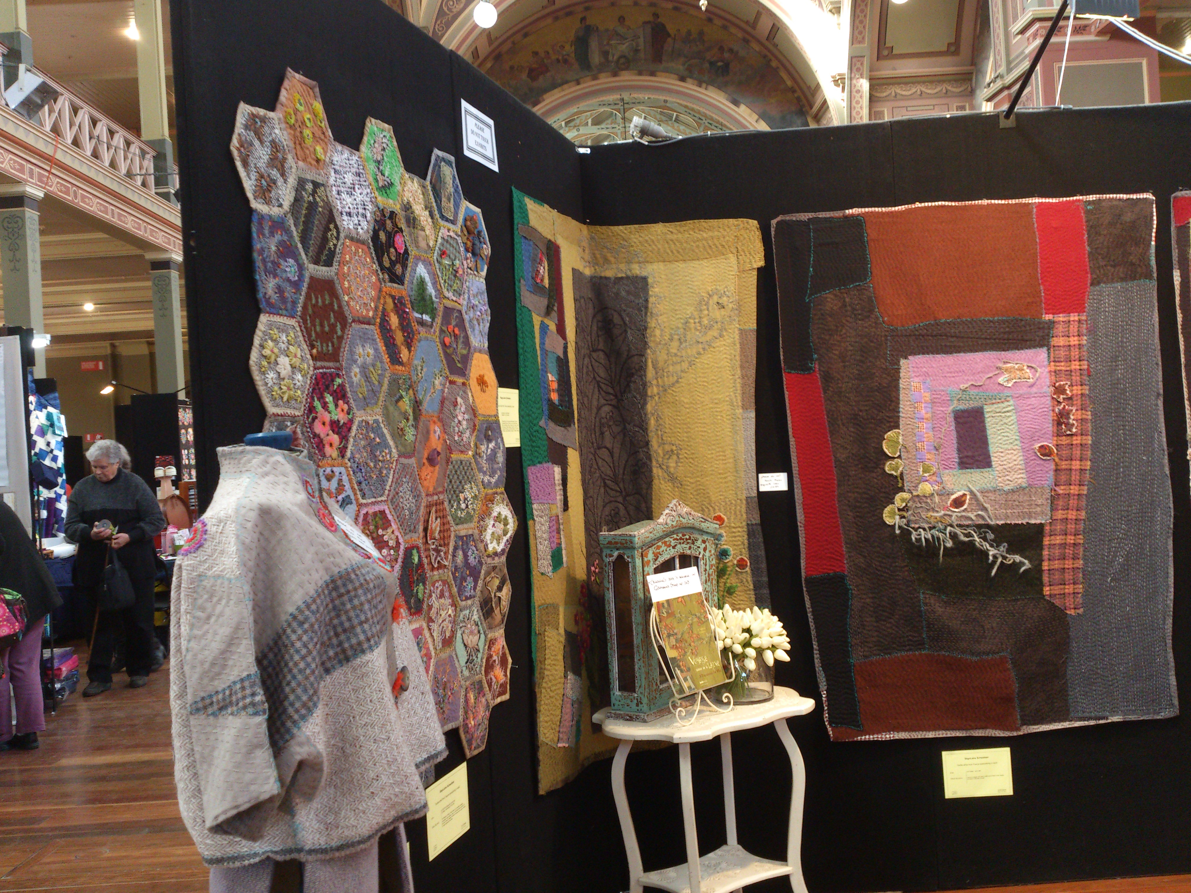 Quintessential Quilters With An Abundance Of Talent Up