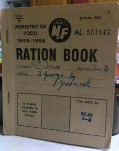Ration book 1953