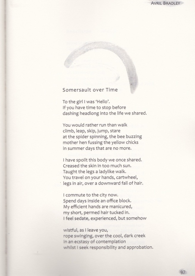 inner child anthology Avril's poem