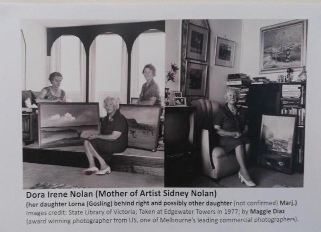 Sidney Nolan's mother