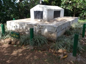 the tomb of RLS
