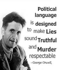 orwell on political lies