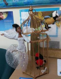 caged bird sings