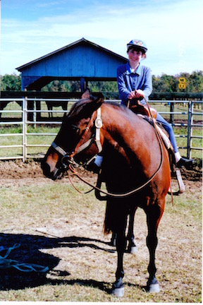 MaryJane horse-riding South Carolina 1997