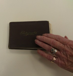 kaye's autograph book 1932 when she was 12jpg