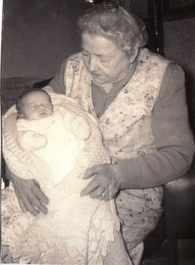 Rita with great Aunt Teen