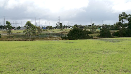 view towards Warrigal Road