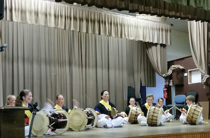 St brigid's korean drums