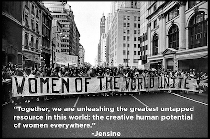 women of the world unite