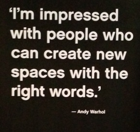 andy warhol quote about writers.jpg