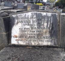McInnes headstone Lilydale cemetery
