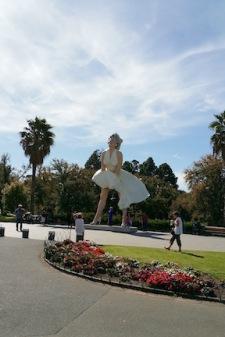 MM statue bendigo fromdistance