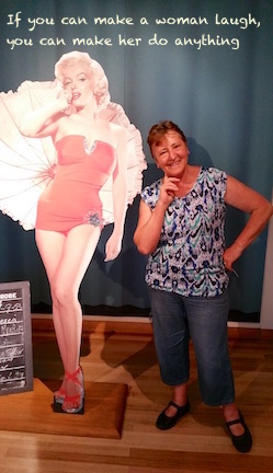 My moment with Marilyn