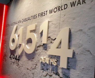 total casualties WW!