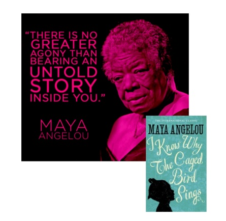 maya angelou speak up essay I didn't speak i had voice, but i refused to use it as a child, maya angelou was  traumatized by abuse for five years, she was silent, but in time,.