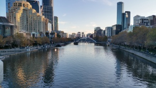 walk bridge over yarra