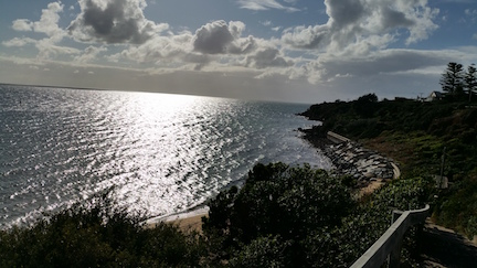 Mornington beach in evening.jpg