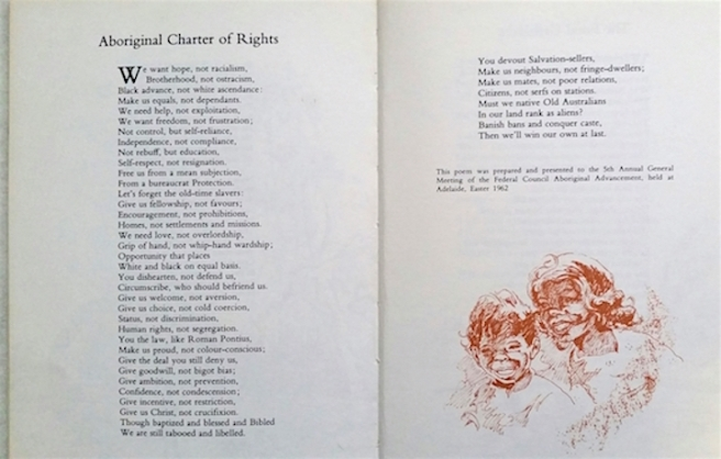 aboriginal charter of rights So many other aboriginal girls of her age, she was drafted into domestic service  in  written especially for the meeting, the 'aboriginal charter of rights'.
