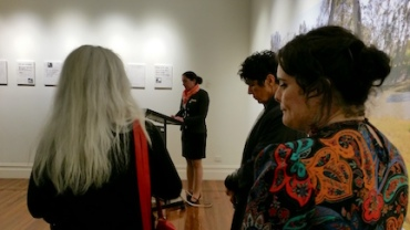 mayor opening Naidoc exhibtion