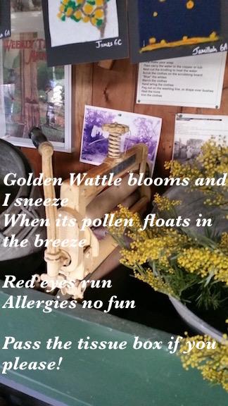 final wattle poem