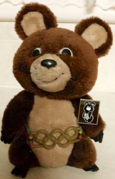 mascot of russian olympics copy