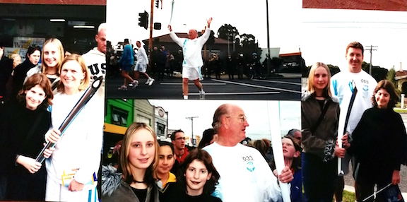 olympic torch 2000