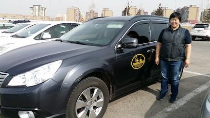 My driver Mongolia