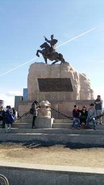 statue a popular place ulan batal