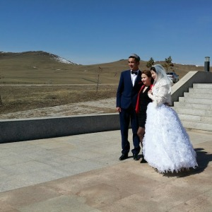 wedding in Mongolia
