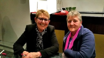 Mem Fox and yours truly