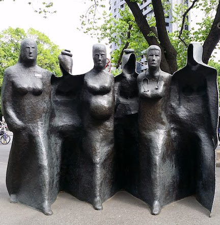 Women's Hospital sculpture