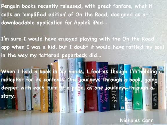 bookshelf with Nicholas Carr quote.jpg