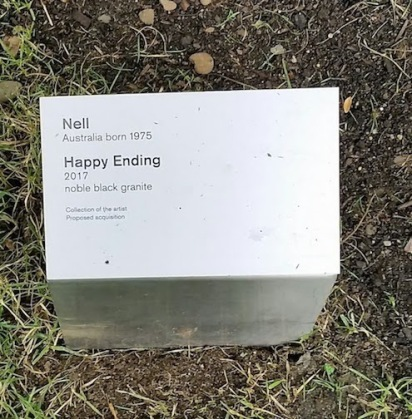 happy ending sculpture explanation 2018