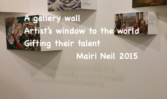 NGV Gallery wall