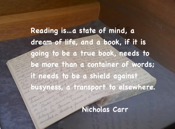 open diary Nicholas Carr quote