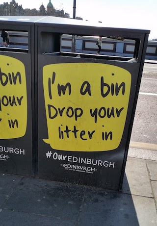 Edinburgh bin