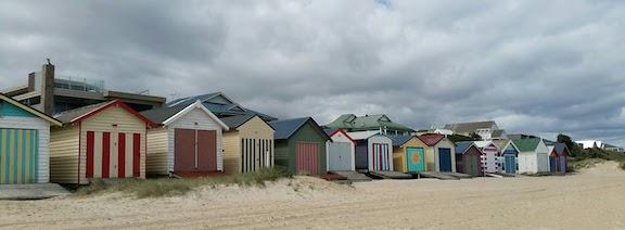 beach boxes Edithvale