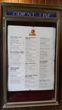menu sherlock holmes pub