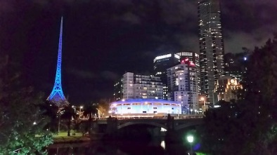 arts precinct at night 3