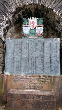 macrae memorial dornie scotland