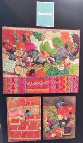 quilts depictin guatamala