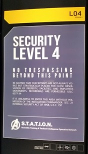 security level sign