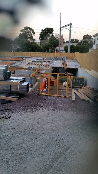 construction of apartments