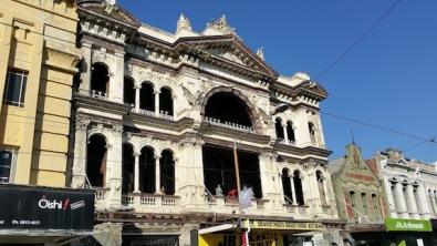 hotel in disrepair
