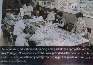 kew cottages occupational therapy 1953